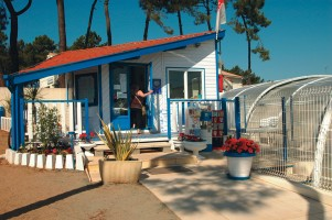 Accueil / reception camping